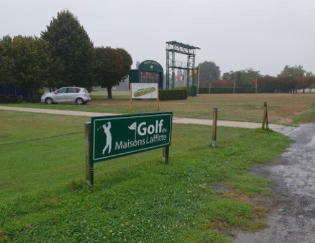 photo de pancarte du Golf de Maisons Laffitte